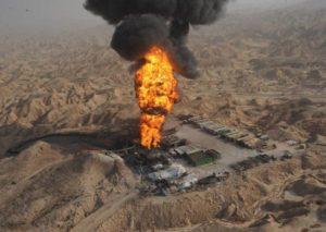 oilfield-burning