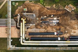 repair and replacement of the pipeline in minsk re NLFKNFV 1 |